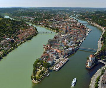 Passau Dreiflüsseeck (c) Stadt Passau