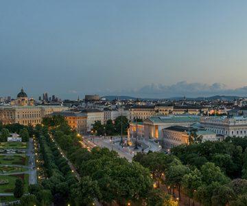 Blick Auf Ringstraße Und Parlament © WienTourismus Christian Stemper