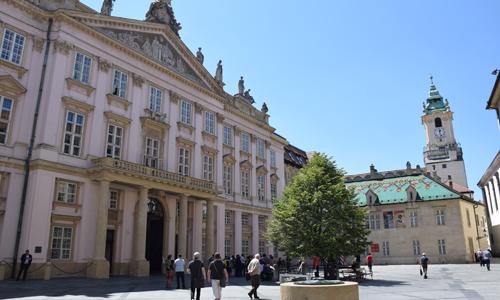 Palais der ungarisch-königlichen Hofkammer und das Primatial-Palais Primatial Palais (c) MS Agency