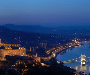 Budapest, Panorama Aus Der Zitadella(c)Ungarisches Tourismusamt