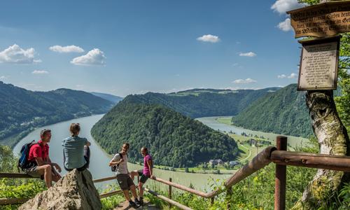 Donausteig Schlögener Schlinge WGD Donau Oberösterreich Tourismus GmbH Hochhauser RH18408 02