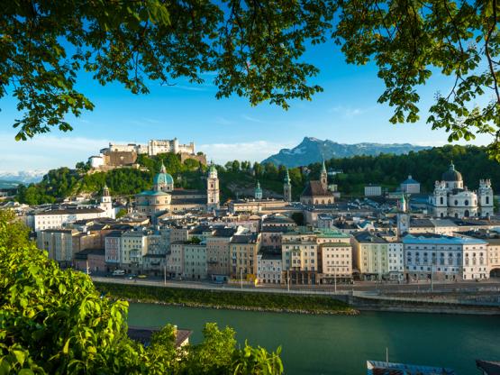 Panorama Salzburger Altstadt ©Tourismus Salzburg Breitegger Günter