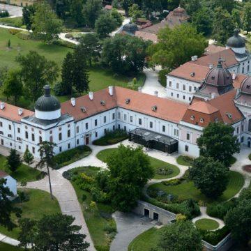 Légifotó Schloss Gödöllő