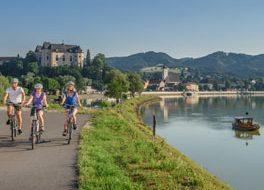 Donauradweg+bei+GreinWGD Donau Oberösterreich Tourismus GmbH Hochhauser 264x200
